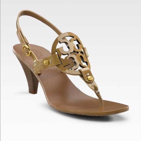 14b6b52ea011 Tory Burch Holly Kitten Heel Sandal